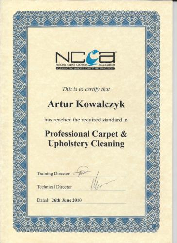 The National Carpet Cleaners Association