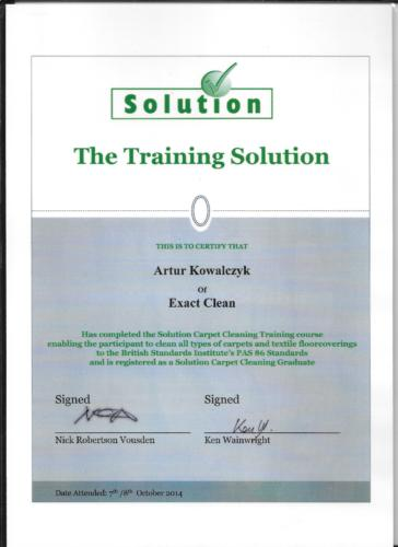 The Training Solution