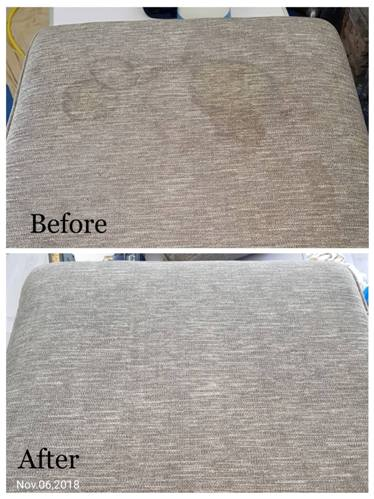 Upholstery cleaning job in Redditch